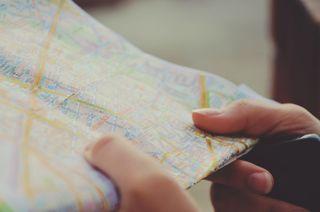 Map hands